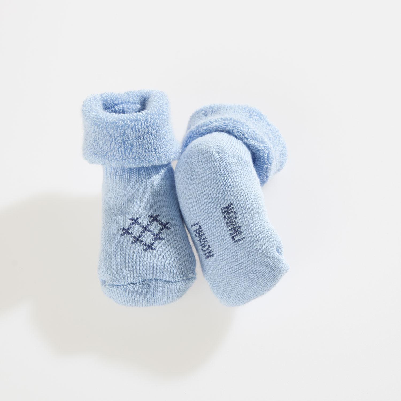 Blue Baby Sock