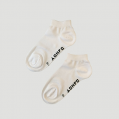 Bamboo White Ankle Socks