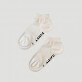 Bamboo White Ankle Socks