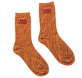 Bamboo Socks Solid Space Red Ochre