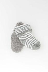 2-pack babystrumpor gråa