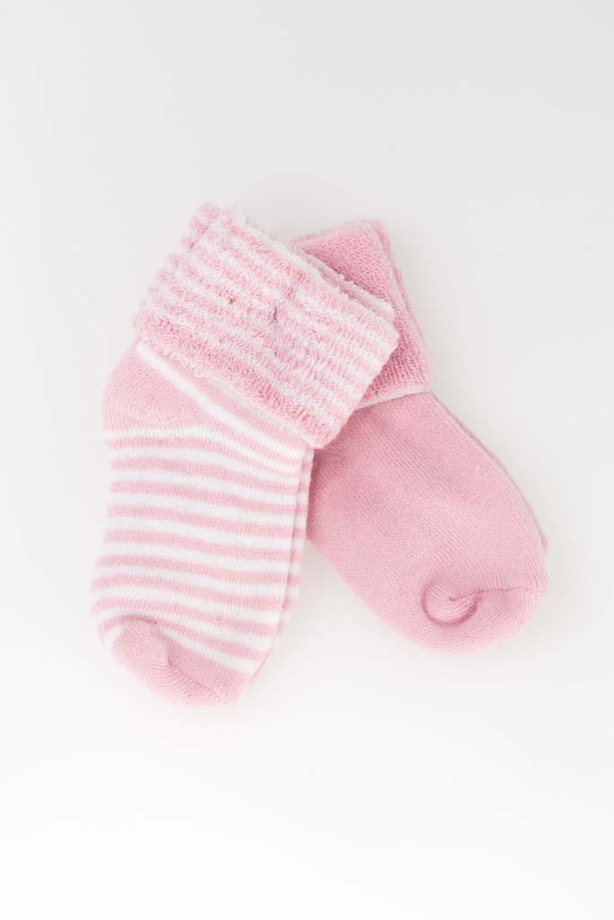 2-pack babystrumpor rosa