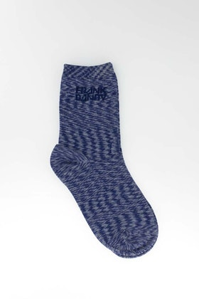 Bamboo Socks Solid Space Deep Cobalt