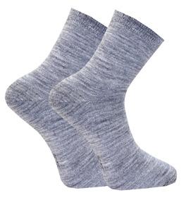 Zokks Liner Wool Grey 2-PACK: 35-38