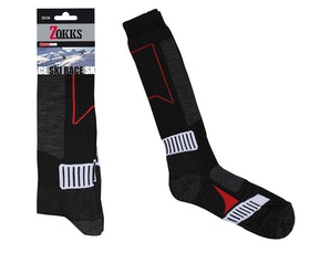 Ski Knee Sock Black