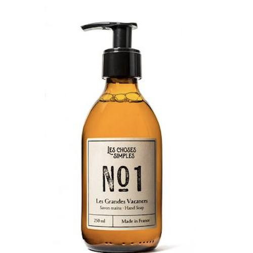 Hand & Body Wash, Les Grandes Vacances (Amber 250 ml, glas)