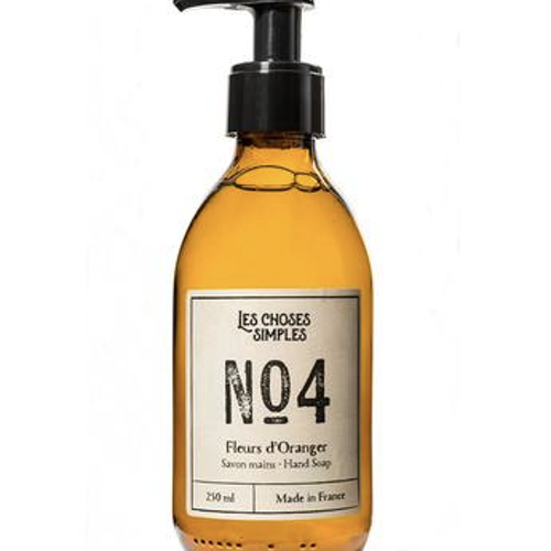 Hand & Body Wash, Fleurs d'Oranger (Orange Blossoms, 250ml, glas)