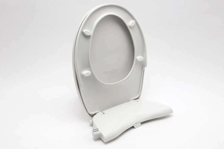 Toalettsits med bidé funktion, ingen el.