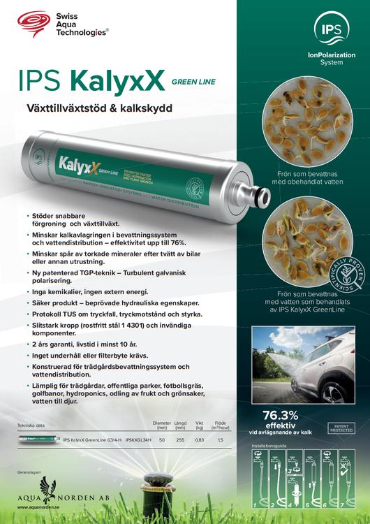IPS KalyxX GreenLine