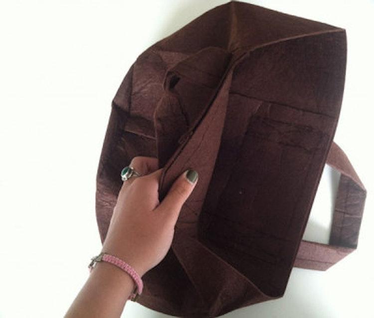 Odlingssäck Root Pouch - 16 liter brun med handtag