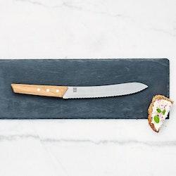 Öyo Triangel Brödkniv 21cm med magnetskydd i filt
