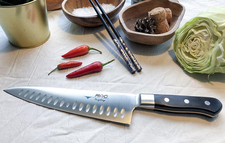 MAC Pro Kockkniv 21 cm olivslipad
