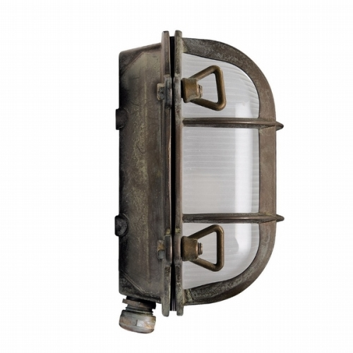 Gallerlampa grönpatinerad 200.09.AR