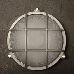 Gallerlampa aluminium 9109