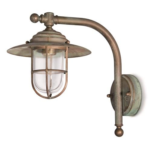 Gallerlampa Grönpatinerad 163.AR