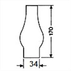 Brännarglas LG01170