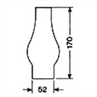 Brännarglas LG02170