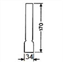 Brännarglas LG06170