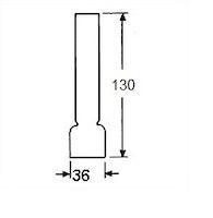 Brännarglas LG08130