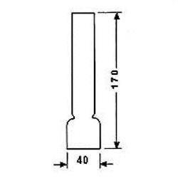 Brännarglas LG10170