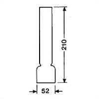 Brännarglas LG14210