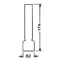 Brännarglas LG14170