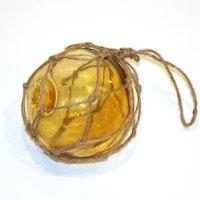 Glasflöte Amber