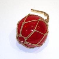 Glasflöte Röd