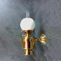 Fotogenlampa vägg mässing 8827/O