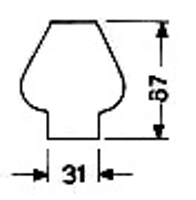 Brännarglas LG05067