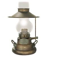 Bordslampa Grönpatinerad 1616