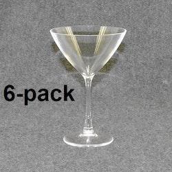 Martiniglas 6st 12:- (2:00st)