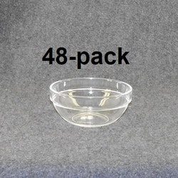 Plock/frukostskål klar/blå 48st 48:- (1:00st)