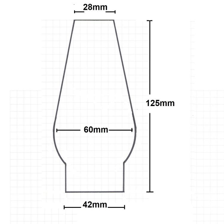 Brännarglas Themis 230232