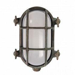 Gallerlampa grönpatinerad 200.15.AR