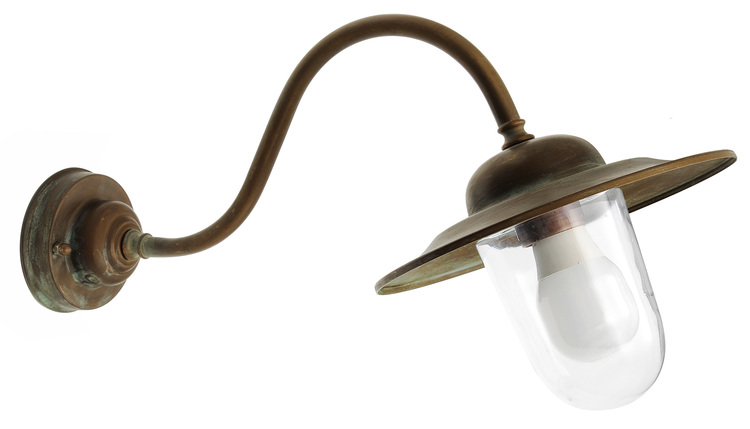 Gallerlampa Grönpatinerad 1365.AR