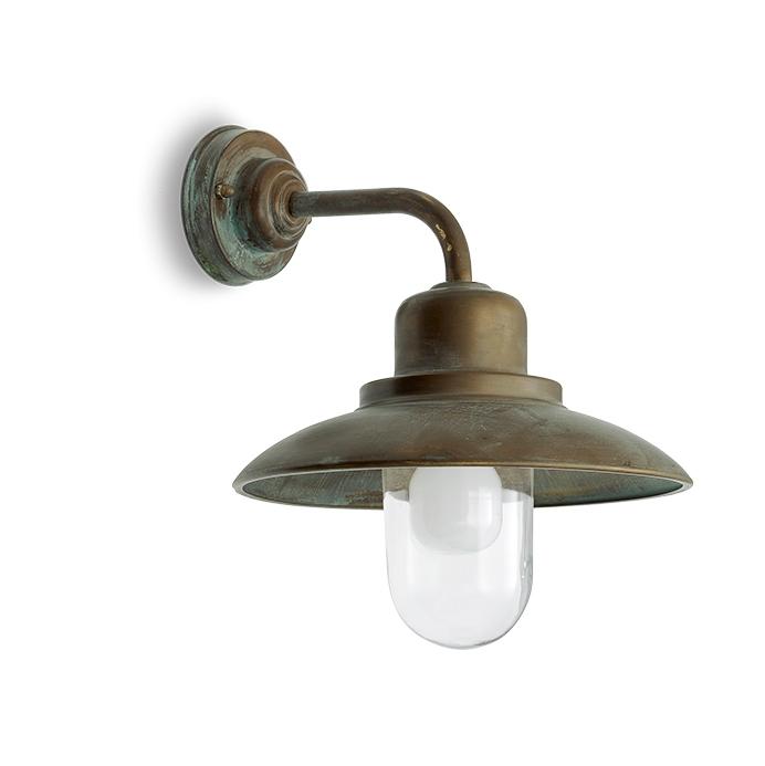 Vägglampa Grönpatinerad 1353.AR
