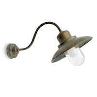 Vägglampa Grönpatinerad 1351.AR