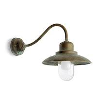 Vägglampa Grönpatinerad 1350.AR