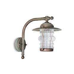 Vägglampa Grönpatinerad 2081.AR