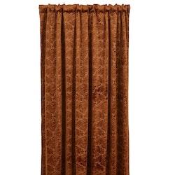 Pavia, 300 cm en multibandslängd i sammet från Jakobsdals. Färg: Rost.