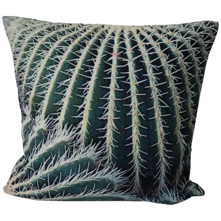 Kuddfodral Kaktus. Mått 45 x 45 cm.
