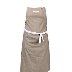 Bodega en förkläde från Noble house. Färg: Beige.
