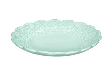 Orient assiett från Cult design. Färg: Mint. Material stengods.