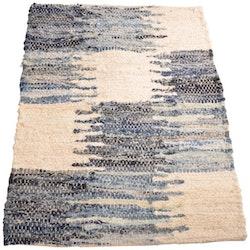 Trasmatta Granit från Boel & Jan. Material 100% bomull. Mått 140 x 200 cm.