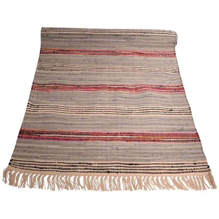 Trasmatta Kvarts från Boel & Jan. Material 100% bomull. Mått 70 x 140 cm.
