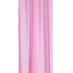 Gardinset i rosa med två längder med dolda hällor. Mått 2 x 130 x 220 cm.