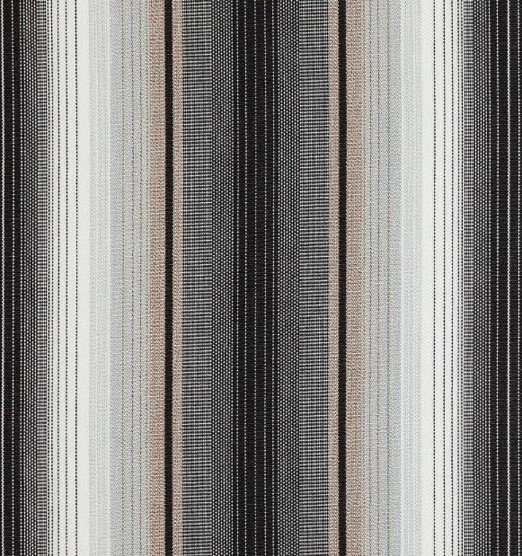 Markisväv/uteväv Helena svart. Material 100% Dralon. Bredd 130 cm.