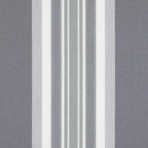 Markisväv/uteväv Maria grå. Material 100% Dralon. Bredd 130 cm.