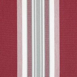 Markisväv/uteväv Maria röd. Material 100% Dralon. Bredd 130 cm.